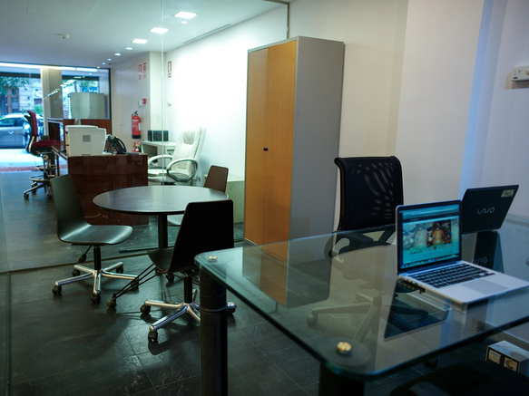 Rental of offices in the center of Barcelona
